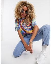 New Girl Order Blue Oversized Festival T-shirt