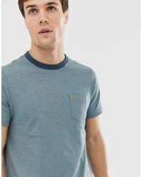 Camiseta Farah de hombre de color Green