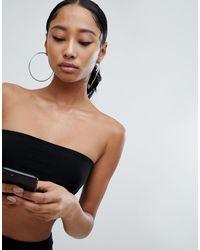 Top nero a fascia di Fashionkilla in Black
