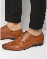 KG by Kurt Geiger Brown Banstead Derby Shoes for men
