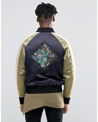The New County Black Souvenir Jacket for men