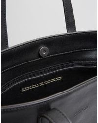 Matt & Nat Minimal Tote Bag In Black