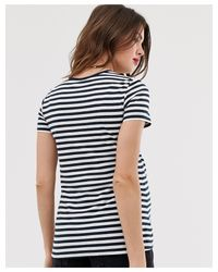 ASOS DESIGN Maternity - T-shirt ras ASOS en coloris Blue