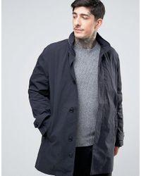 YMC - Black Hooded Coat for Men - Lyst