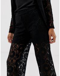 Pantaloni da abito di Vila in Black