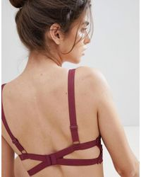 Free People Red Lace Bralette