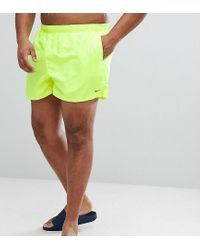 Volley NESS8830-737 di Nike in Yellow da Uomo
