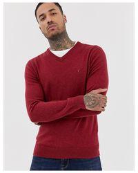 Maglione di Tommy Hilfiger in Red da Uomo
