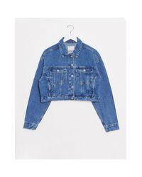 Синяя Джинсовая Куртка ASOS, цвет: Blue