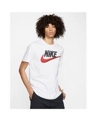 Nike – Brand Mark – T-Shirt in White für Herren
