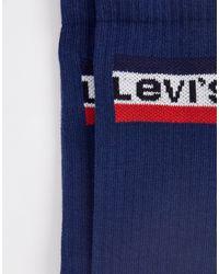 Lot Levi's pour homme en coloris Blue