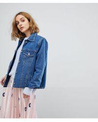 Vero Moda Blue Boyfriend Denim Jacket