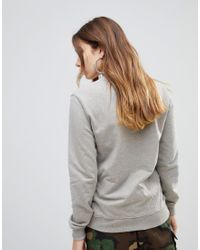 House of Holland Gray Lewd Sweater