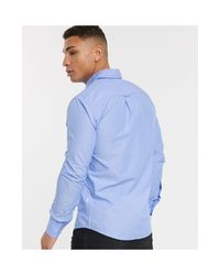 Camisa BOSS de hombre de color Blue