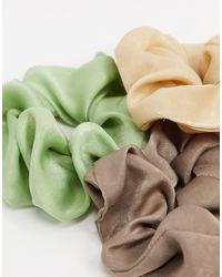 Набор Атласных Резинок Для Волос -мульти Stradivarius, цвет: Multicolor