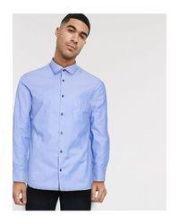 Jack & Jones Premium – Langärmliges Hemd in Blue für Herren