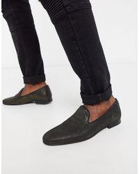 Лоферы -золотистый Twisted Tailor для него, цвет: Black