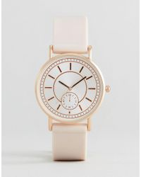 New Look | Pink Dial Silicone Watch | Lyst