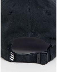 Gorra con diseño Adidas Originals de hombre de color Black