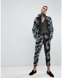 Pantalon ASOS pour homme en coloris Black