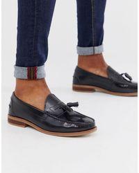 Office Black Liho Penny Loafers for men