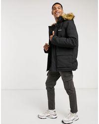 Пуховик С Искусственным Мехом На Капюшоне -черный Nicce London для него, цвет: Black