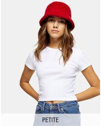 T-shirt basique Topshop Unique en coloris White