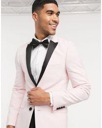 Chaqueta ASOS de hombre de color Pink