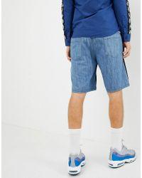 Pantalones cortos con detalle de la marca Love Moschino de hombre de color Black