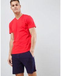 Pyjama Hom pour homme en coloris Red