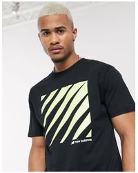 New Balance Black Tokyo T-shirt for men
