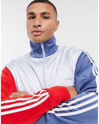 Adidas Originals Multicolor Three Stripe Track Jacket for men