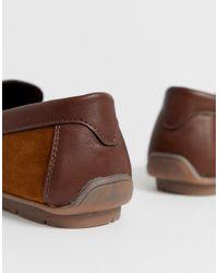 Светло-коричневые Мокасины New Look для него, цвет: Brown