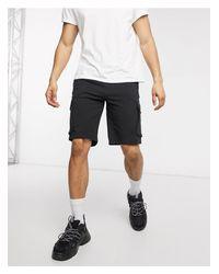 Pantaloncini della tuta cargo neri di Only & Sons in Black da Uomo