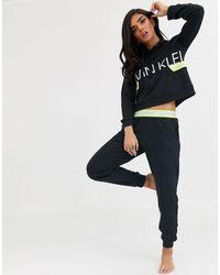 Черные Джоггеры С Неоновым Логотипом Hazard-черный Calvin Klein, цвет: Black