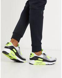Nike White Air Max 90 Recraft Sneakers for men