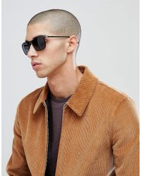 Esprit - Brown Square Sunglasses In Brwon for Men - Lyst