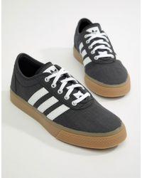 Adidas Originals Adi-ease Trainers In Black Cq1067 for men