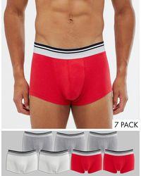 Pack ASOS de hombre de color Red