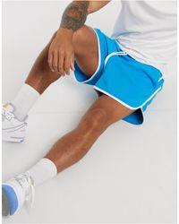 Pantalones cortos estilo corredor ASOS de hombre de color Blue