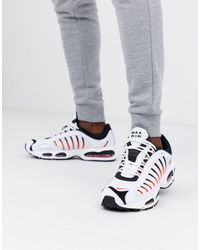Nike White Am Tailwind Sneakers for men