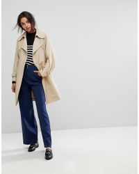 MAX&Co. - Natural Max&co Trench Coat - Lyst