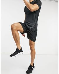 PUMA Black Training 7 Inch Shorts for men