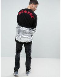 ASOS Oversized T-shirt With Mystic Yoke Print In Black for men
