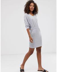 Noisy May Gray – Tropall – Jersey-Kleid
