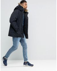 Carhartt WIP Black Anchorage Parka for men