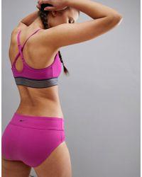 Bas couvrant Nike en coloris Pink