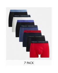 Набор Из 7 Разноцветных Боксеров-брифов -многоцветный French Connection для него, цвет: Multicolor