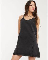 Noisy May Black – es Mini-Jeanskleid