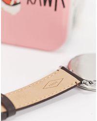 Часы С Коричневым Кожаным Ремешком Copeland Fs5663-коричневый Fossil для него, цвет: Brown